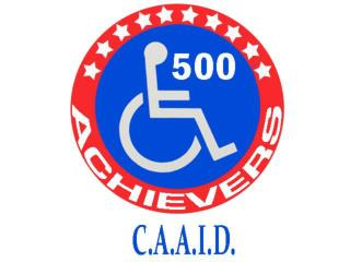 Corporate Achievers Awards for Individuals w ith Disabilities