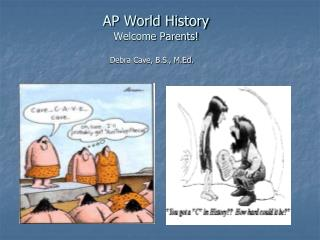 AP World History Welcome Parents!