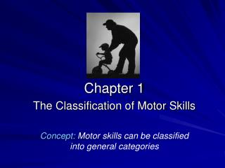 Chapter 1 The Classification of Motor Skills Concept:  Motor skills can be classified into general categories