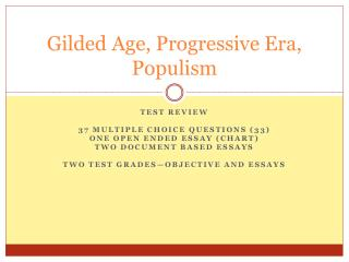 the progressive era 2 essay
