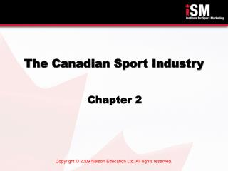 The Canadian Sport Industry