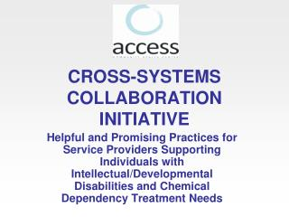 CROSS-SYSTEMS COLLABORATION INITIATIVE