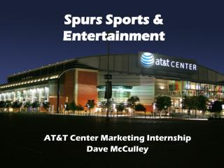 Spurs Sports & Entertainment