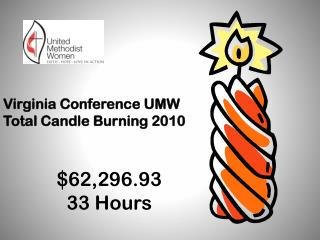 Virginia Conference UMW Total Candle Burning 2010