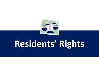 Residents' Rights