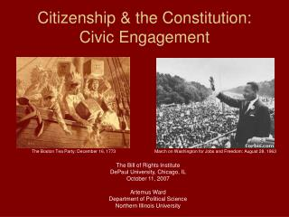 Citizenship and the Constitution: Civic Engagement