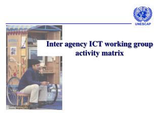 Inter agency ICT working group activity matrix