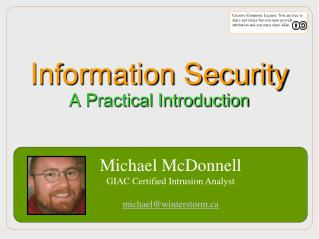 Information Security A Practical Introduction