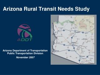 Arizona Rural Transit Needs Study