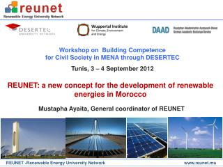 REUNET: a new concept for the development of renewable energies in Morocco