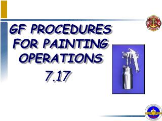 GF PROCEDURES FOR PAINTING OPERATIONS