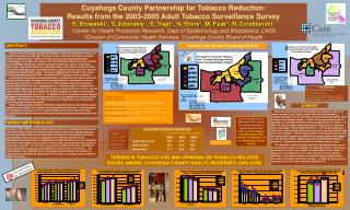 Cuyahoga County Partnership for Tobacco Reduction: