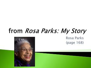 from  Rosa Parks: My Story