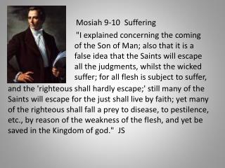 Mosiah 9-10  Suffering