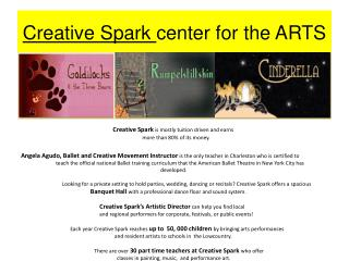 Creative Spark  center for the ARTS