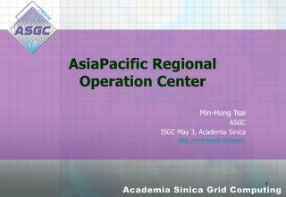 AsiaPacific Regional Operation Center