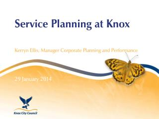 Service Planning at Knox