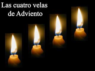 Las cuatro velas  de Adviento