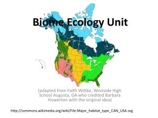 Biome Ecology Unit