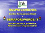SEMAFOROVERDE.IT