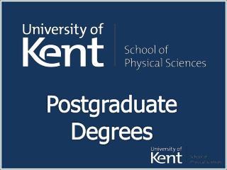 Postgraduate Degrees