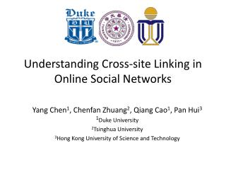 Understanding Cross-site Linking in Online Social Networks