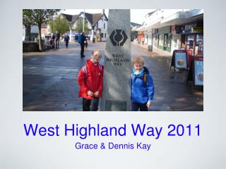 West Highland Way 2011