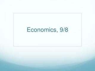 Economics 9