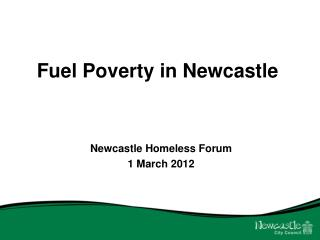 Fuel Poverty in Newcastle