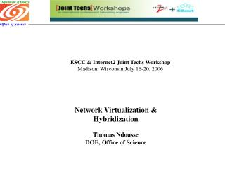 ESCC & Internet2 Joint Techs Workshop Madison, Wisconsin.July 16-20, 2006