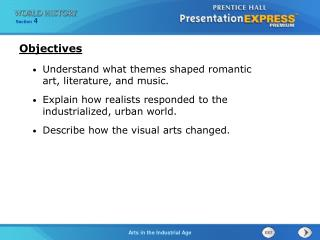 Understand what themes shaped romantic art, literature, and music.