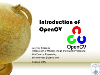 Introduction of OpenCV