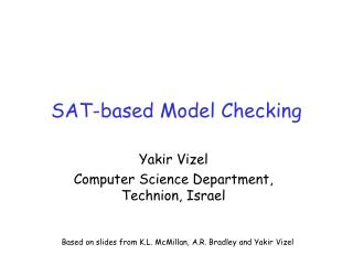 SAT-based Model Checking