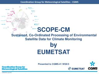 Introduction to SCOPE-CM