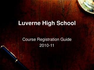 Luverne High School