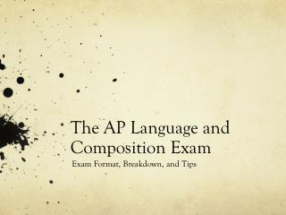The AP Language and Composition Exam