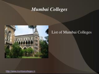 Mumbai Colleges