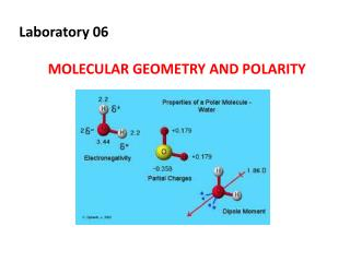 Laboratory 06 MOLECULAR GEOMETRY AND POLARITY