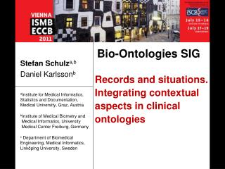 Records and situations.  Integrating contextual aspects in clinical ontologies