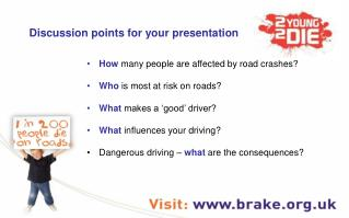 Discussion points for your presentation