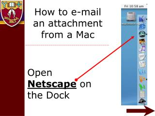 How to e-mail an attachment from a Mac