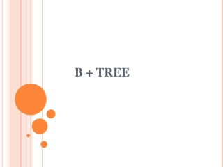 B-Trees And B-Trees