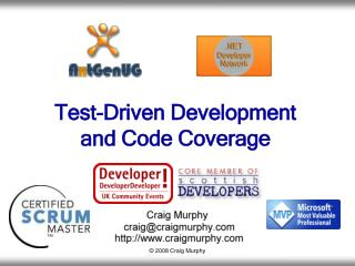 Test-Driven Development  and Code Coverage