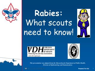 Rabies:  What scouts need to know!