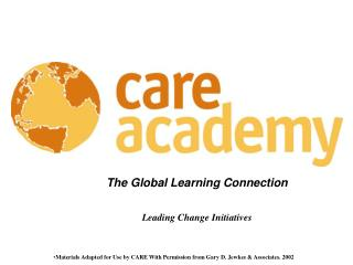The Global Learning Connection