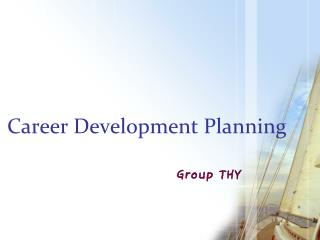 Career Development Planning
