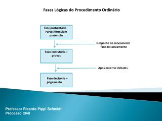 Fases Lógicas do Procedimento Ordinário