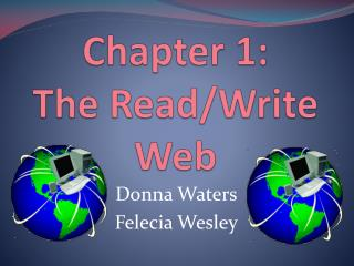 Chapter 1:  The Read/Write Web