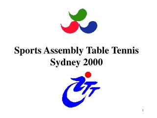 Sports Assembly Table Tennis Sydney 2000