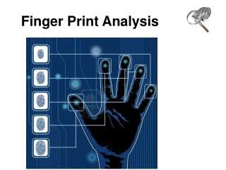 Finger Print Analysis